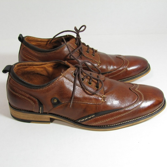 7b9463fb997 Steve Madden JIMMER Shoes Wingtip Oxford Leather 9